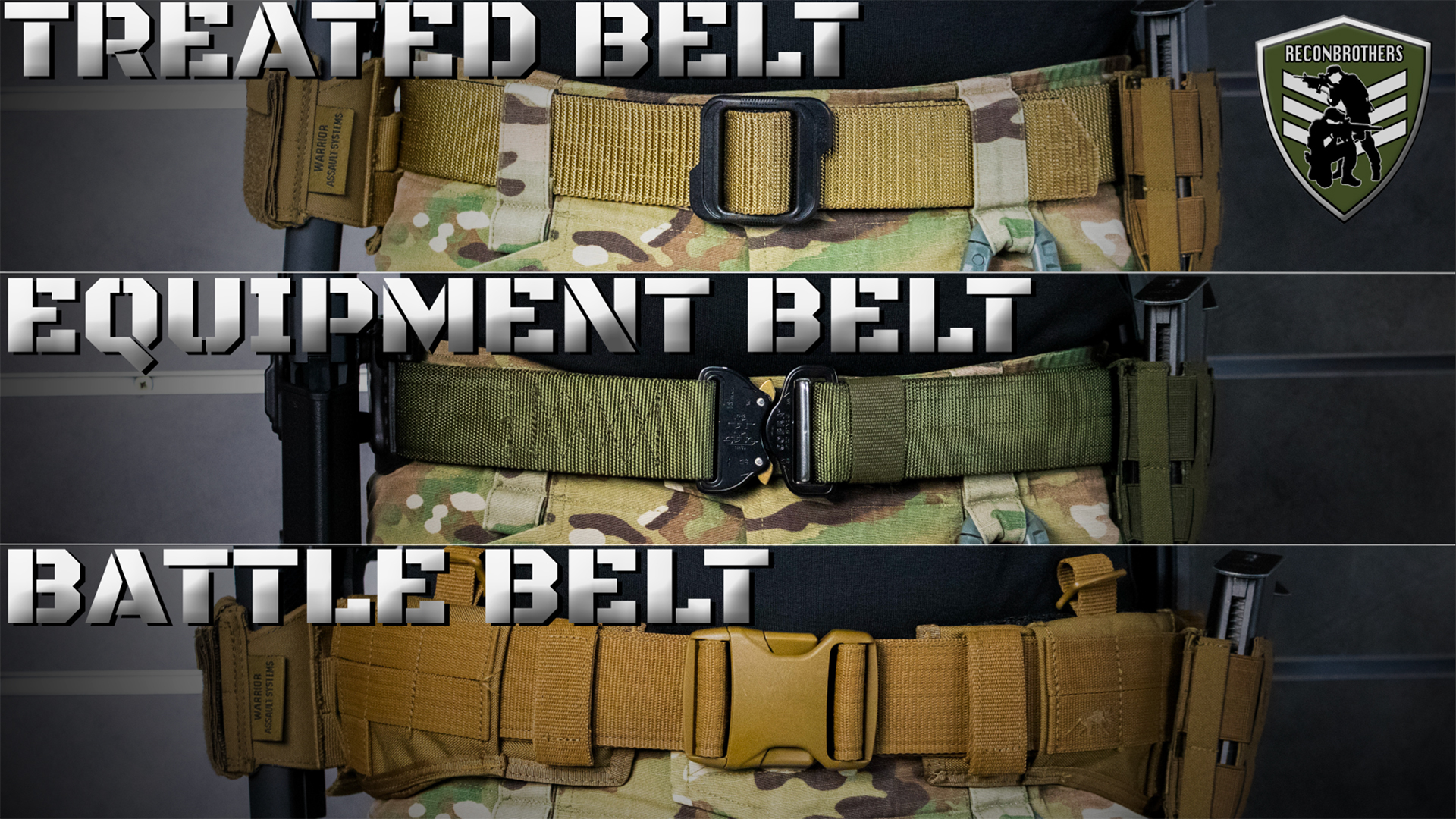 (Airsoft) Tactical Belts What to Choose 2.0