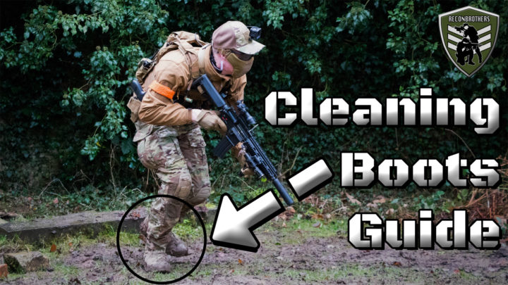 How to Clean & Maintain (Airsoft) Tactical_Outdoor Boots Thumbnail
