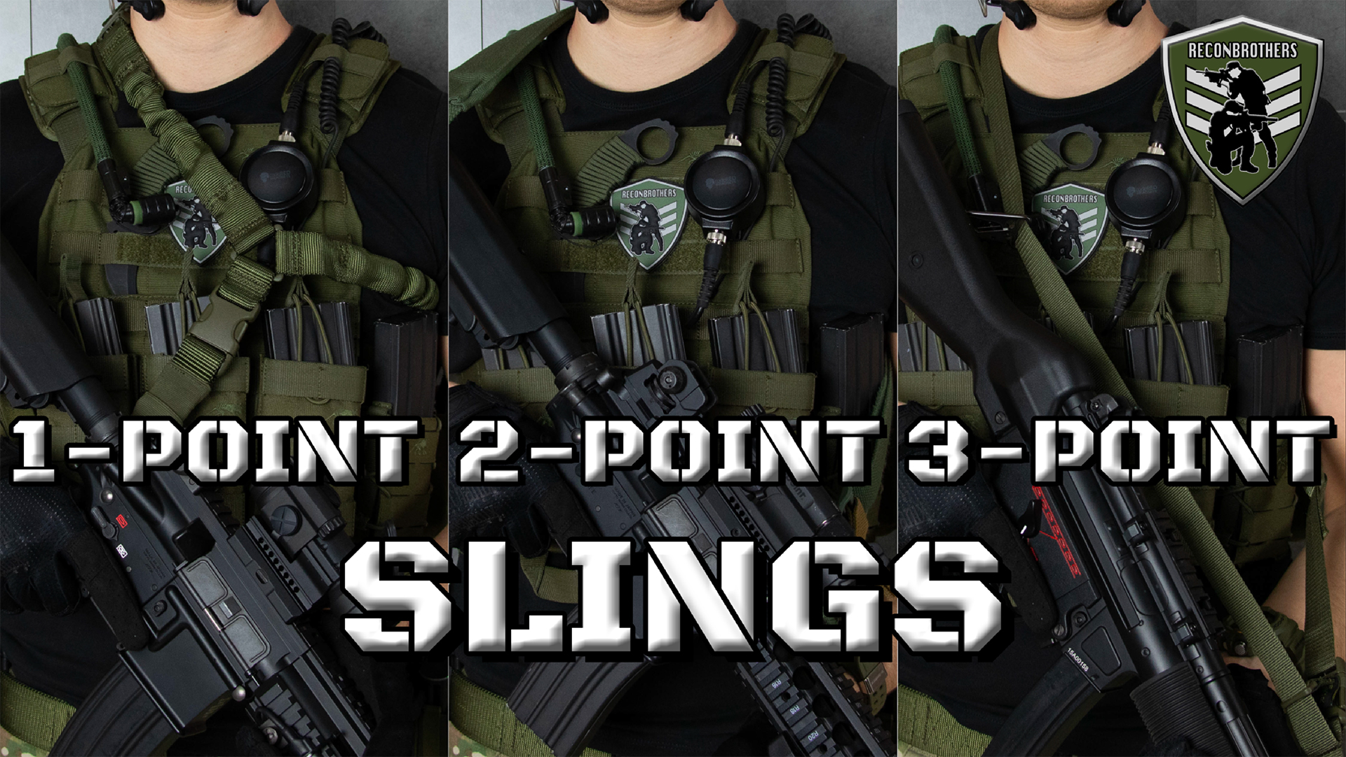 (Airsoft) weapon slings what to choose