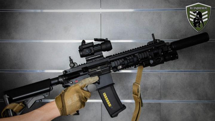 YT thumbnail Our €1700 Tokyo Marui Airsoft Rifle AEG Setups