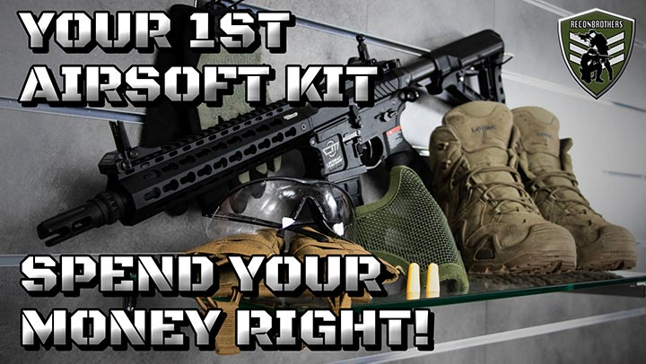Airsoft Bootcamp Ep 2 - Your First Quality STARTER KIT Youtube Thumbnail