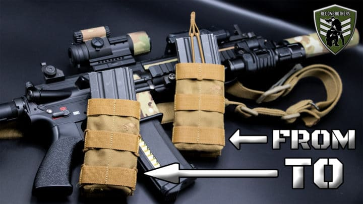 fast mag pouch - How to Mod an AR Bungee Mag Pouch to a Fast Mag Pouch