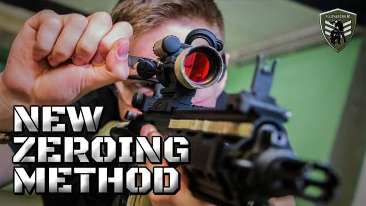 optics - How to Zero your Optics on Airsoft Guns WITHOUT Firing a Shot YT Thumbnail