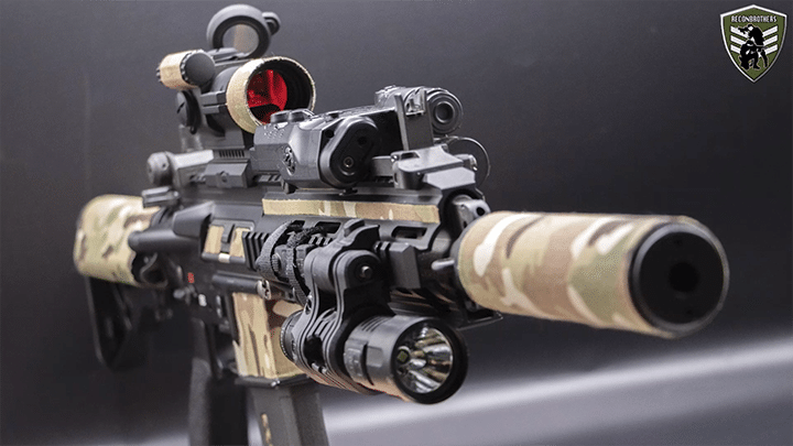 How to zero your optics on airsoft guns without shooting