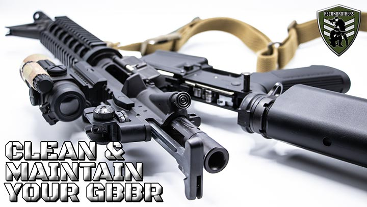 How to Clean & Maintain a GBBR - Milsim & Airsoft Guide blog