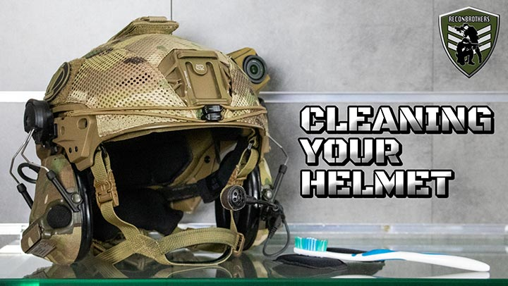 How to Clean a Tactical Helmet