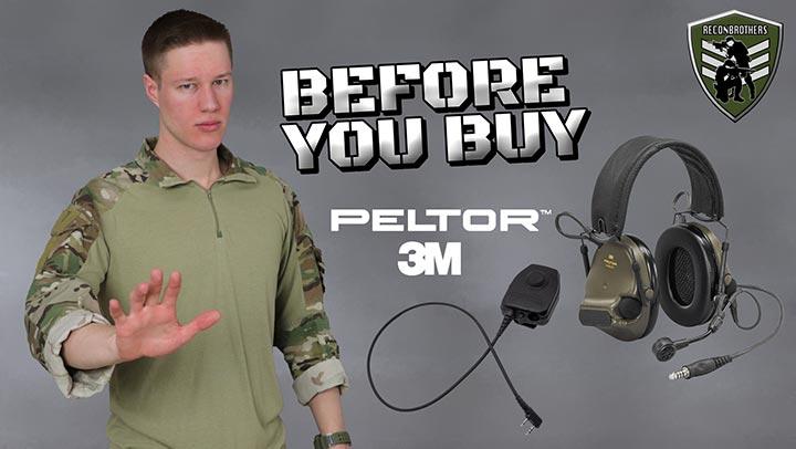 Peltor ComTac XPI + PTT Review Blog thumbnail