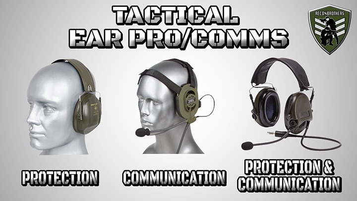 Choosing THE BEST Tactical Ear pro_Comms for Military & Airsoft Blog