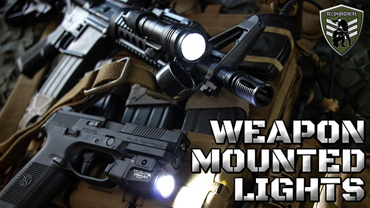 Choosing the Best Weapon Mounted Lights for Military and Airsoft