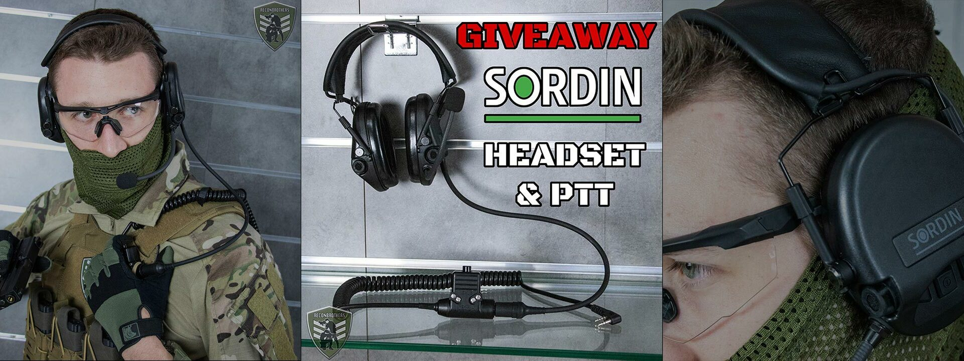 Reconbrothers Sordin Giveaway Combo