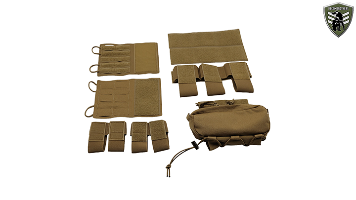Tasmanian Tiger Small Combi Rig Belt Harness - Inserts and additional components